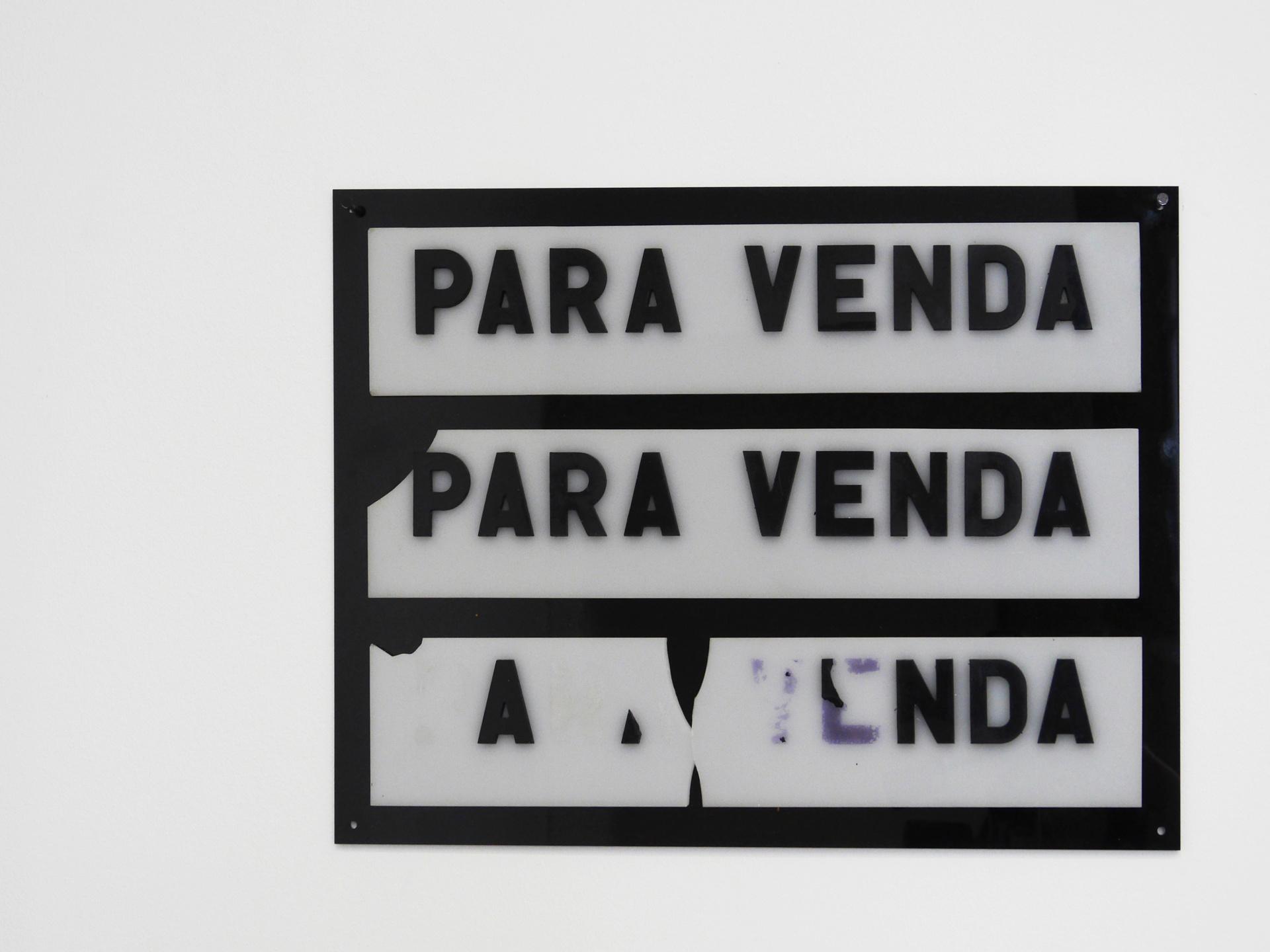 Post Ford Palace. Metacrilato (3 carteles recuperados del Palàcio Ford de Oporto). 33'5x44 cm. 2018
