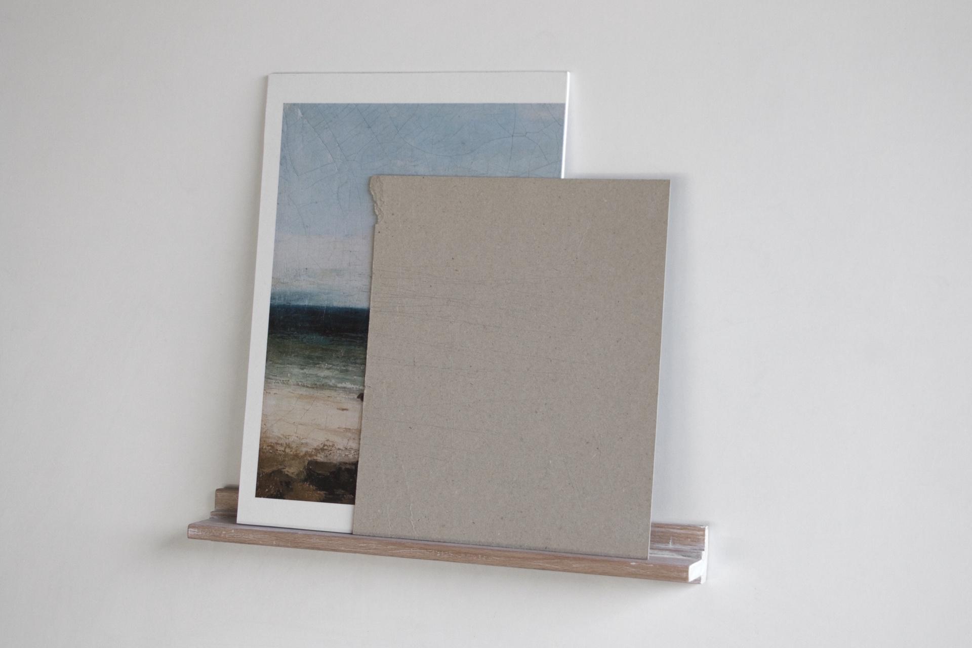 Serie objetos encontrados. Collage y madera. 34x31 cm. 2014