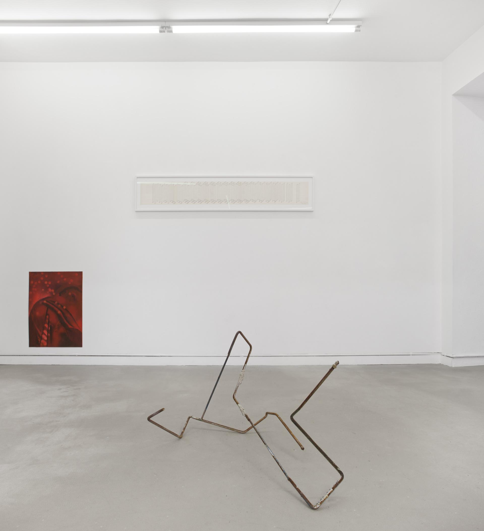 Oculto en la sombra. Sucediendo en el margen. Disolviendo la forma. Curator: Marta Ramos-Yzquierdo